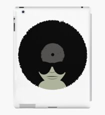 Funky Music Afro Vinyl Records iPad Case/Skin