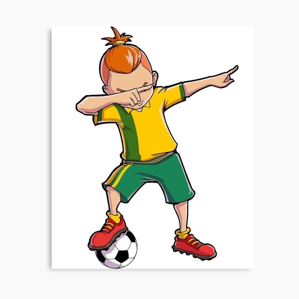 Chicos vistiendo camiseta de fútbol con conjunto de vectores de diferentes  colores | Vector Premium
