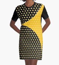Hypocycloid Graphic T-Shirt Dress