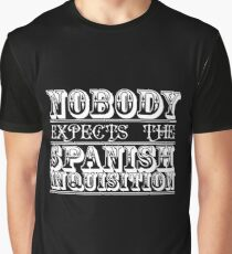 Nobody expects the spanish inquisition | Best of British Cult TV | Monty Python Graphic T-Shirt