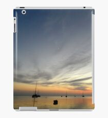 Boats at Sunrise - Monkey Mia iPad Case/Skin