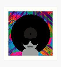 Funky Vinyl Records - Music Art Art Print