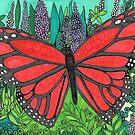 Butterflying Around by JillelaineArt
