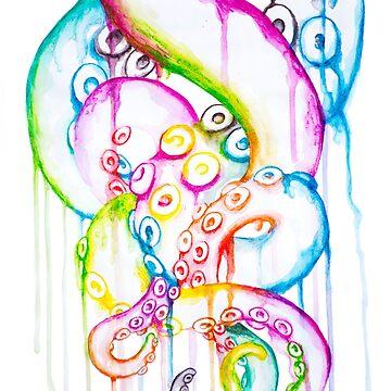 Entwined tentacles by SchwaigerStudio