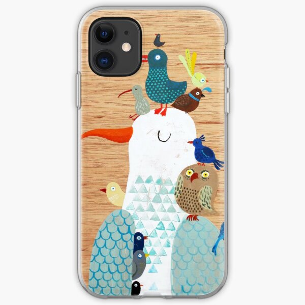 Bird king - Seagull iPhone Soft Case