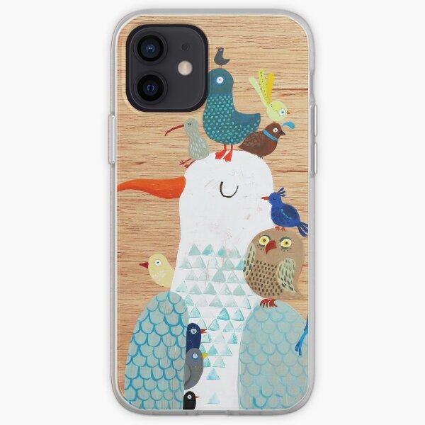 Bird king - Seagull iPhone Soft Case