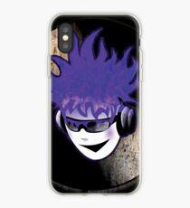 Punk Rock Vinyl Record -  MUSIC! iPhone Case