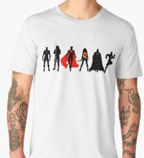 JL Minimalist Superhero Graphic Men's Premium T-Shirt