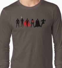JL Minimalist Superhero Graphic T-Shirt