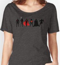 JL Minimalist Superhero Graphic Women's Relaxed Fit T-Shirt