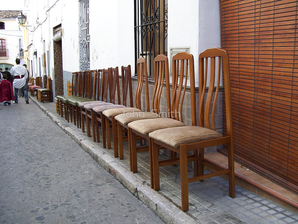 """"""" Chairs """" by John  Smith"""