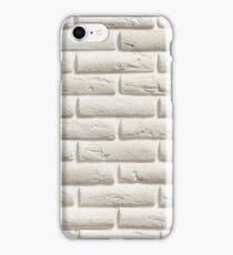 White Brick   Pattern iPhone Case/Skin