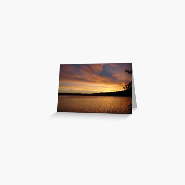 Sunset Bliss Greeting Card