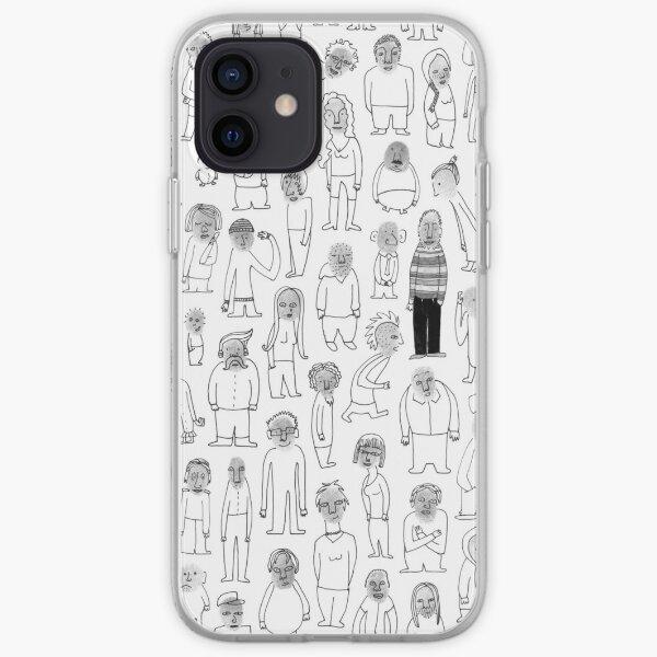 Crowd iPhone Soft Case