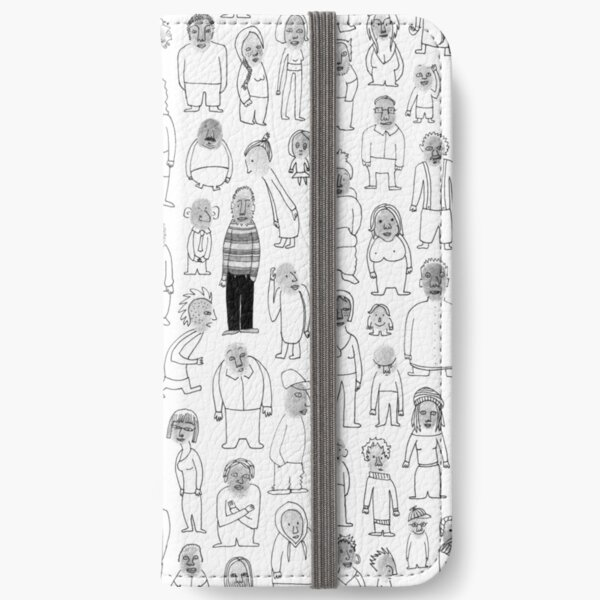Crowd iPhone Wallet