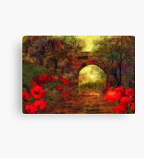Ye olde railway bridge  Canvas Print