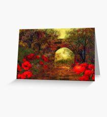Ye olde railway bridge  Greeting Card