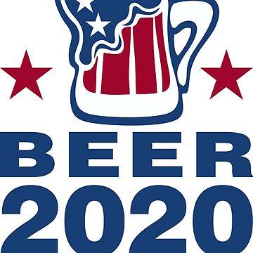 Vote Beer 2020 by DavidAyala