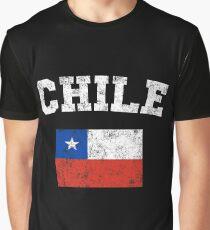 Chilean Flag Shirt - Vintage Chile T-Shirt Graphic T-Shirt