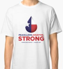 Peace Love Houston Strong Classic T-Shirt