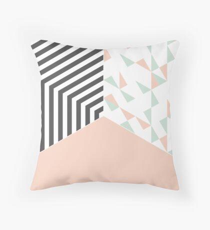 Pink Room #redbubble #decor #buyart Throw Pillow