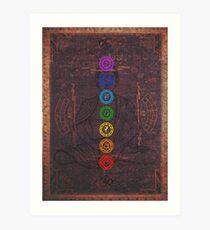 The Seven Chakras Art Print