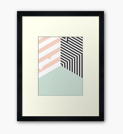 Mint Room #redbubble #decor #buyart Framed Print