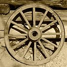 Wagon Wheel by Gary L   Suddath