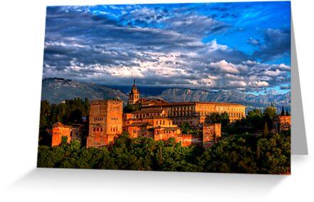 Alhambra HDR by Antonio Jose Pizarro Mendez