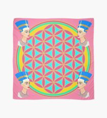 Nefertiti and the Flower of Life Scarf