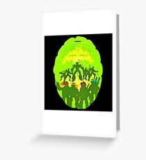 turtle squad Greeting Card