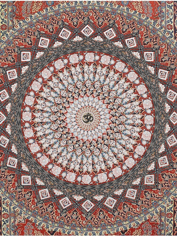 Om Mandala by DanJohnDesign
