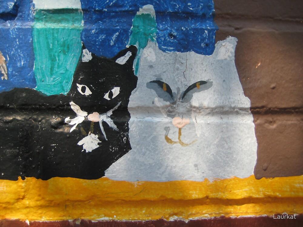 mural pair by Laurkat