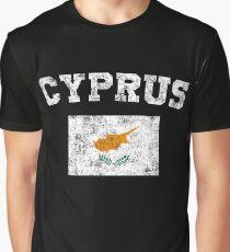 Cypriot Flag Shirt - Vintage Cyprus T-Shirt Graphic T-Shirt