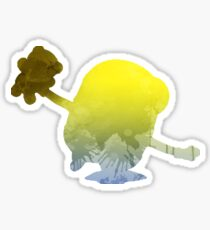 Character Inspired Silhouette Sticker