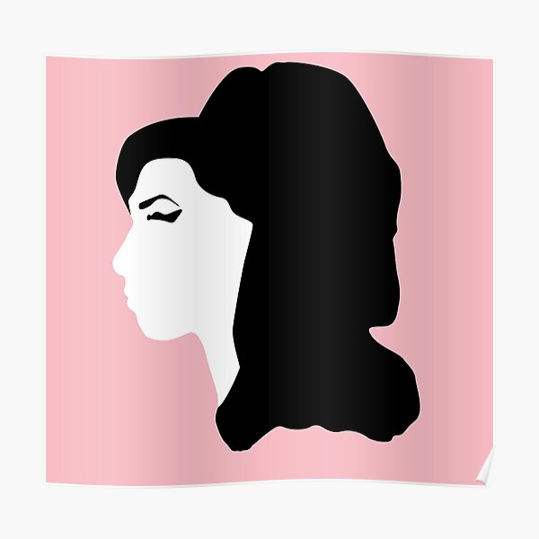 Amy Winehouse - Pink Poster
