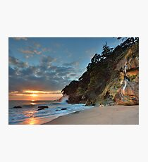 Homunga Bay, Sunrise Waterfall. Photographic Print