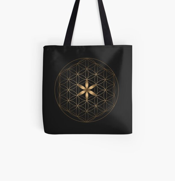 The Flower Of Life All Over Print Tote Bag