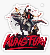 Kung Fury Sticker