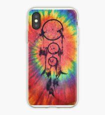 Catcher of the Vivid Nights | Tie Dye iPhone Case