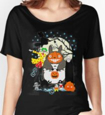 hallowen totoro Women's Relaxed Fit T-Shirt