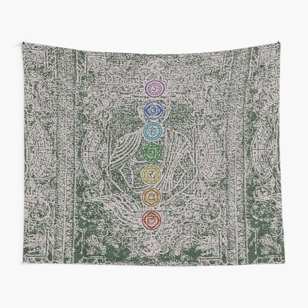 The Seven Chakras (Ancient) Tapestry