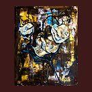 Dried roses by Yana Art
