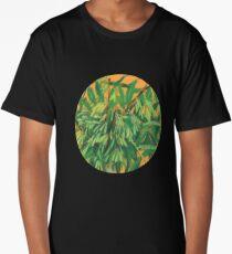 """Ash-tree"", green & yellow, floral art Long T-Shirt"