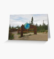 Arctic Circle Greeting Card