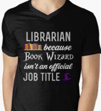 LIBRARIAN Men's V-Neck T-Shirt