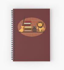 House Shelf - Lion Spiral Notebook