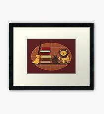 House Shelf - Lion Framed Print