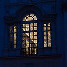 A Glimpse Through a Window - Piazza Navona, Rome, Italy by Georgia Mizuleva