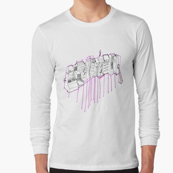 Mon ghetto au pastelles... Long Sleeve T-Shirt